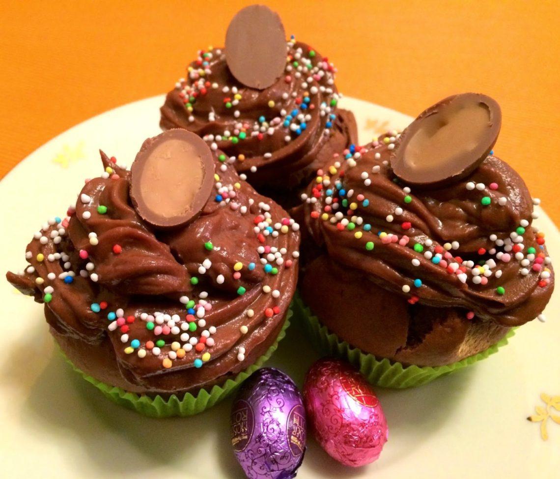 Flexitarier (Vegane Schoko-Cupcakes)