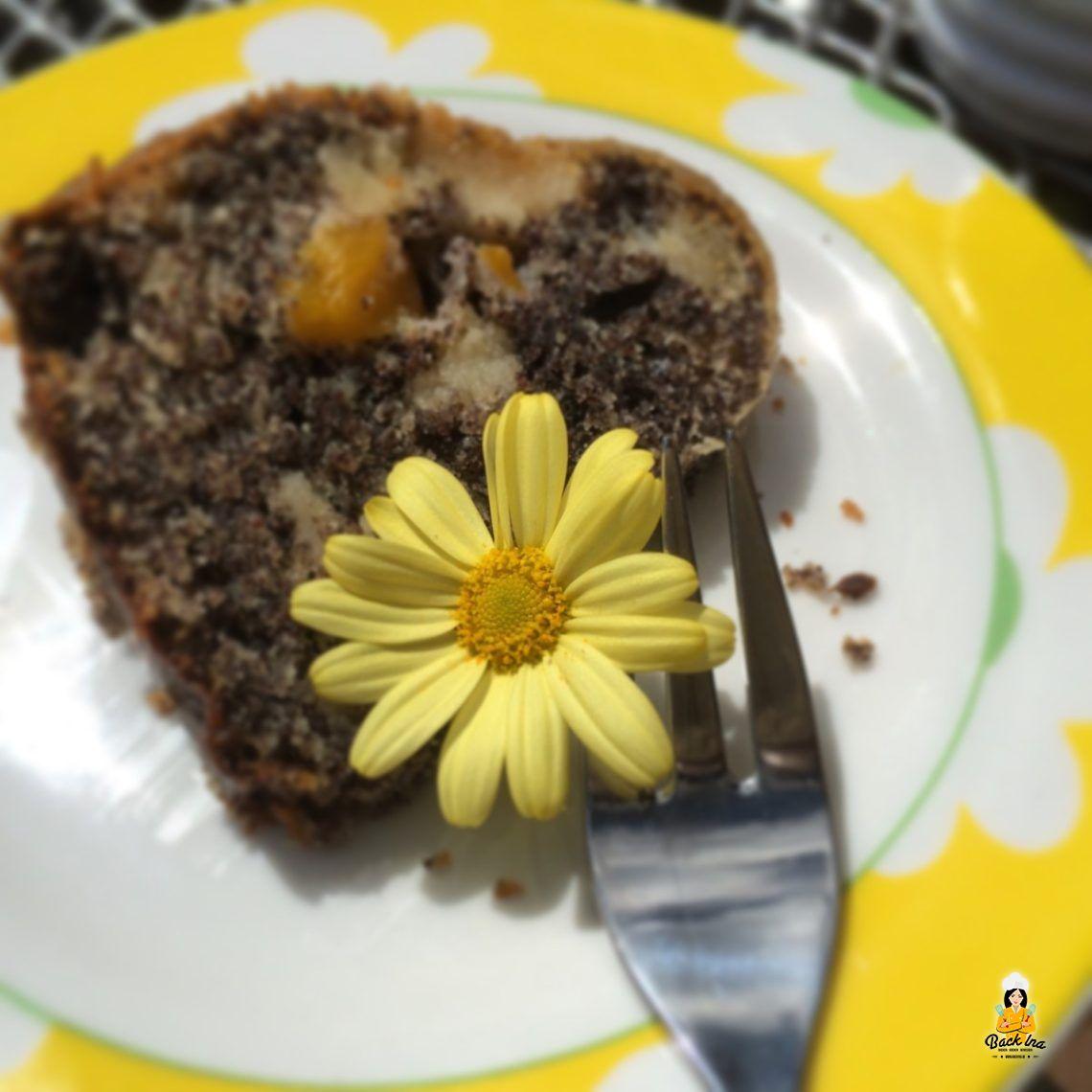 Ich ess' Blumen (Mohn-Aprikosen-Gugelhupf)