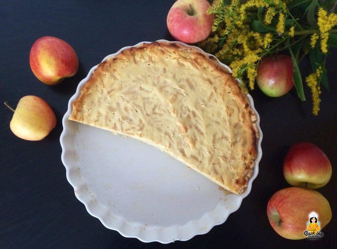 An Apple A Day… (Apfel-Käsekuchen-Tarte)