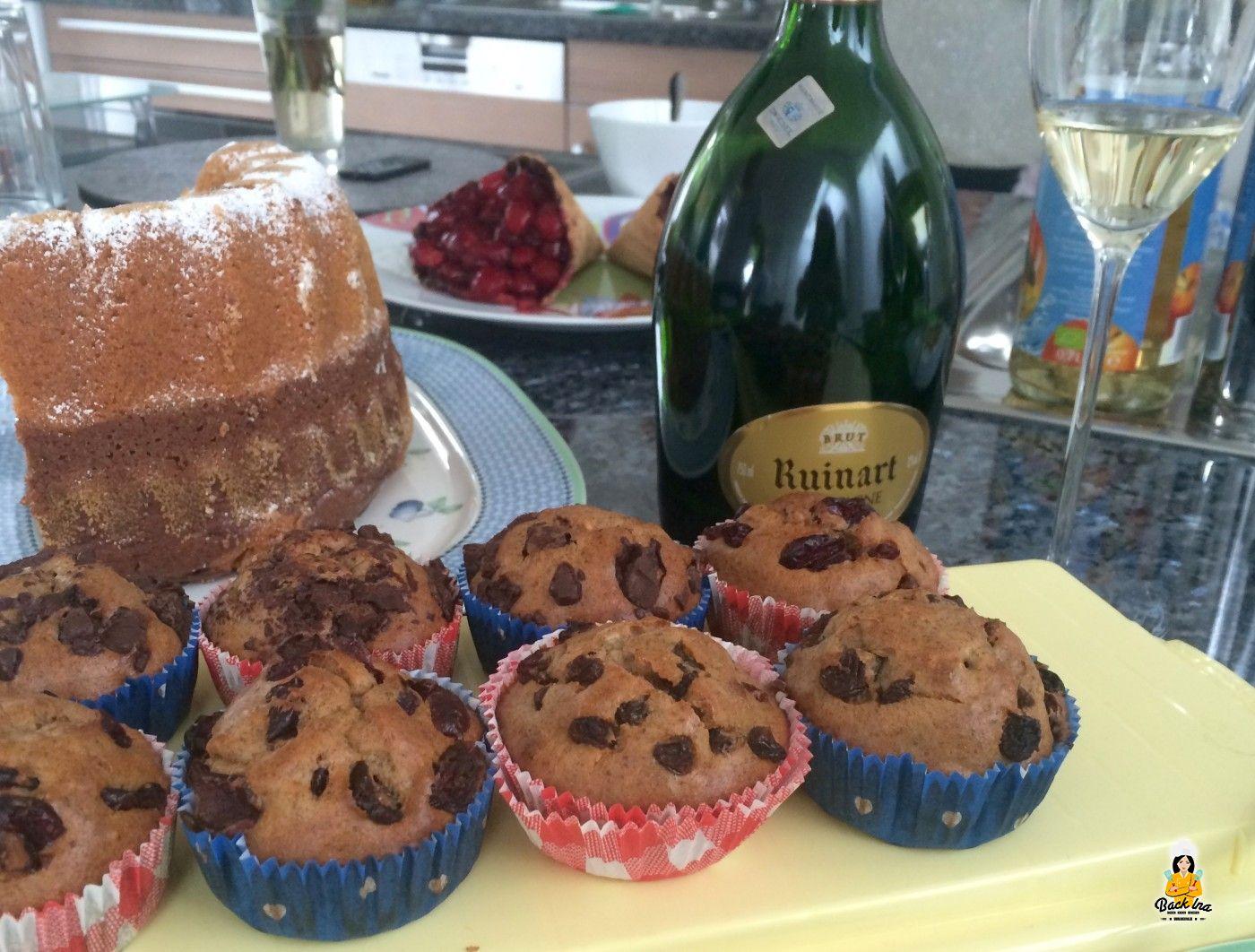 zuckerfreie muffins mit banane und erdnussbutter. Black Bedroom Furniture Sets. Home Design Ideas