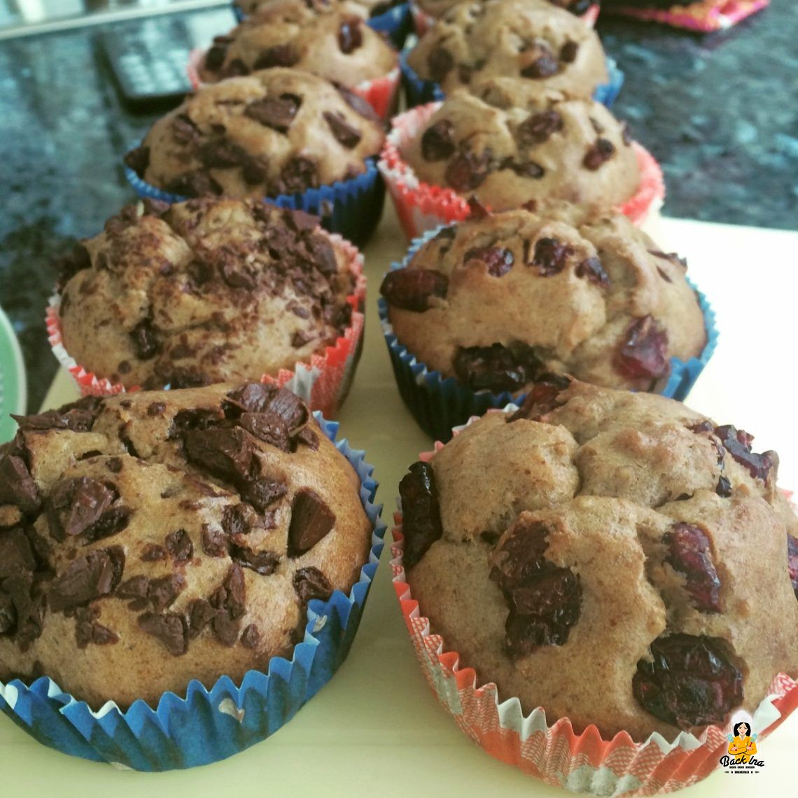 Von Lust und Last (Zuckerfreie Muffins mit Banane und Erdnussbutter)