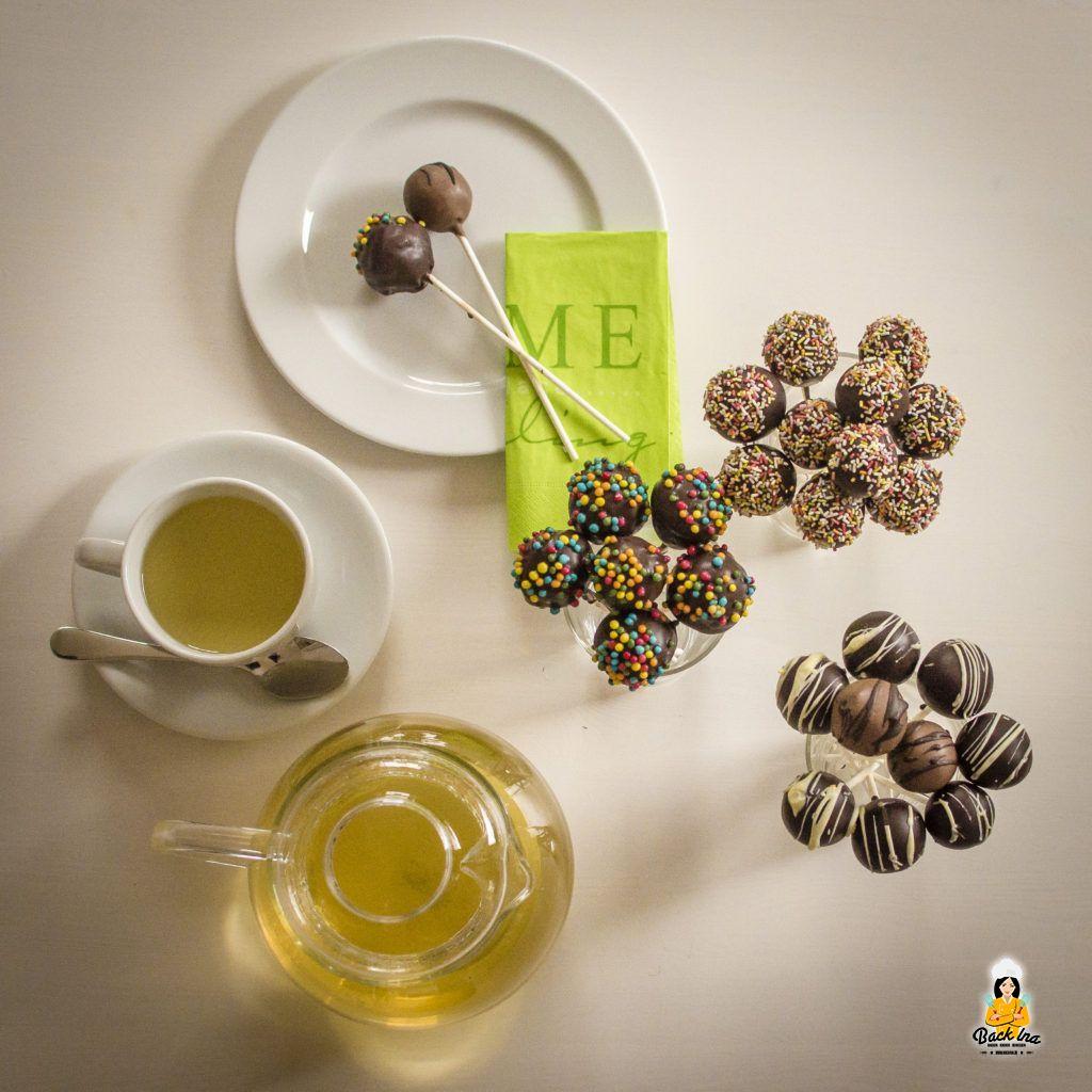 Cakepops schmecken zu Kaffee oder Tee!