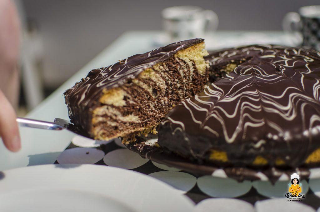 Passt zu vielen Gelegenheiten: Zebrakuchen, Marmorkuchen mal anders