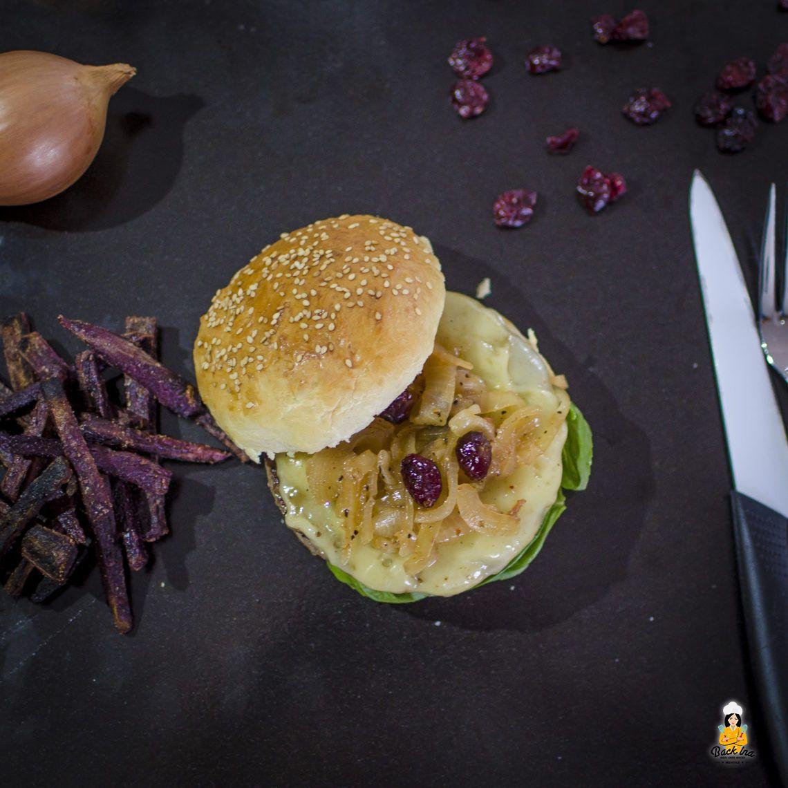 Burger Special: Knusprige Süßkartoffel Pommes aus dem Ofen