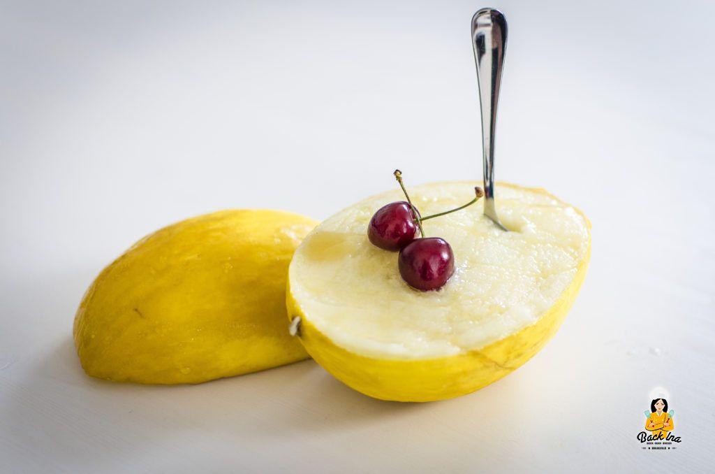 Sommer Dessert ohne Zucker: Melonen Sorbet