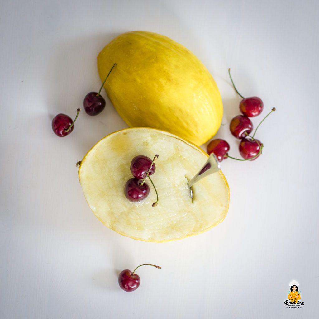 Fruchtiges Melonen Sorbet ohne Zucker