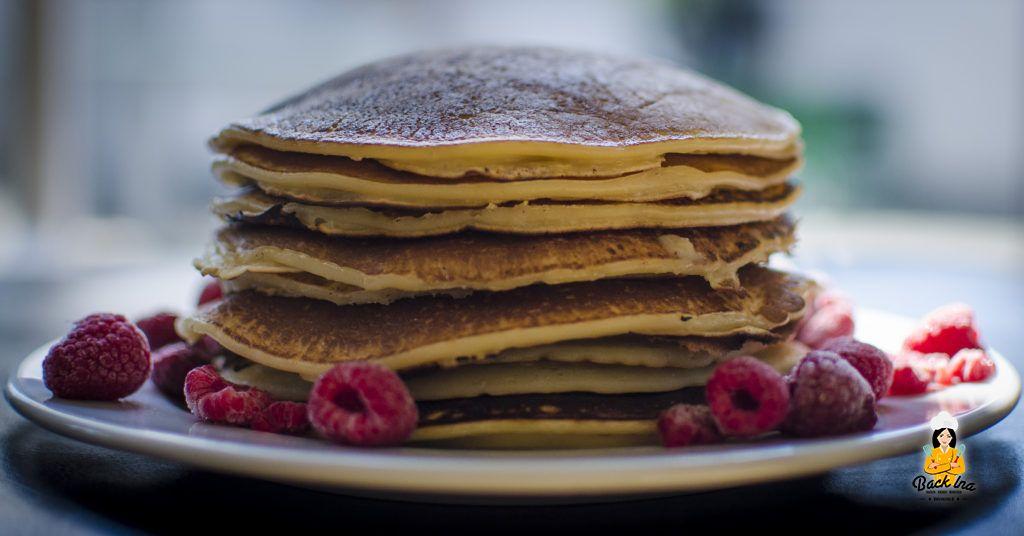 Pfannkuchen bzw Pancakes mit Buttermilch