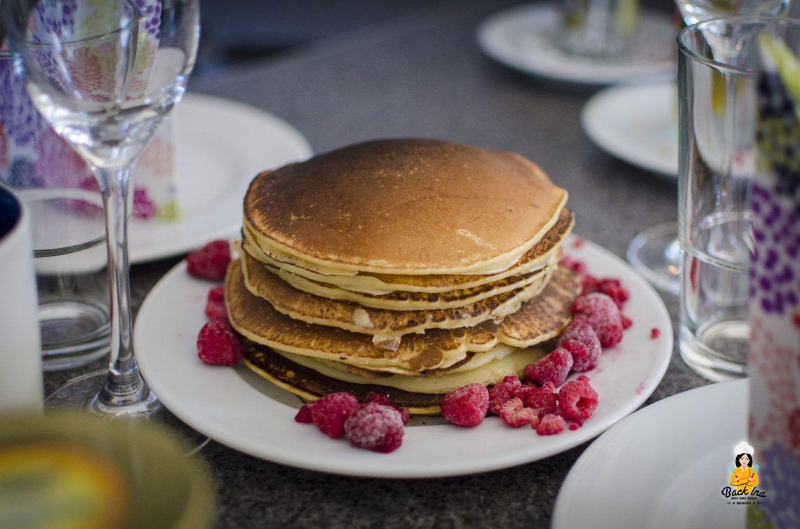Geburtstagsfrühstück (Buttermilch Pancakes)