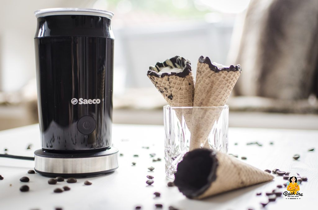 Coffee in a Cone und der Saeco Milchaufschäumer im Test