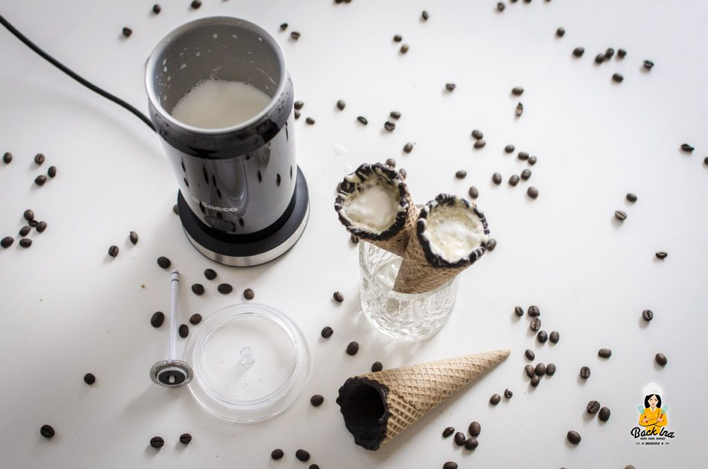 Coffee in a Cone selbstgemacht