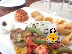 Gemischter Teller im Restaurant Papadopoulos