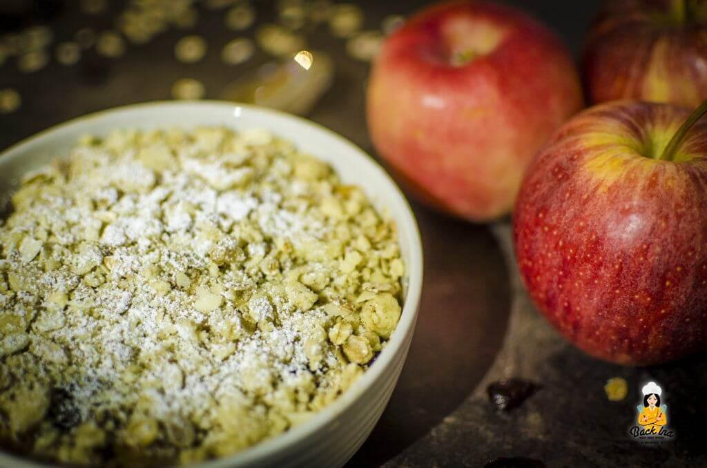 Apple Crumble vom Grill: Einfaches und leckeres Dessert vom Grill