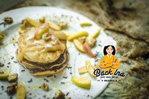 Herbstliches Frühstück: Apfel Pfannkuchen