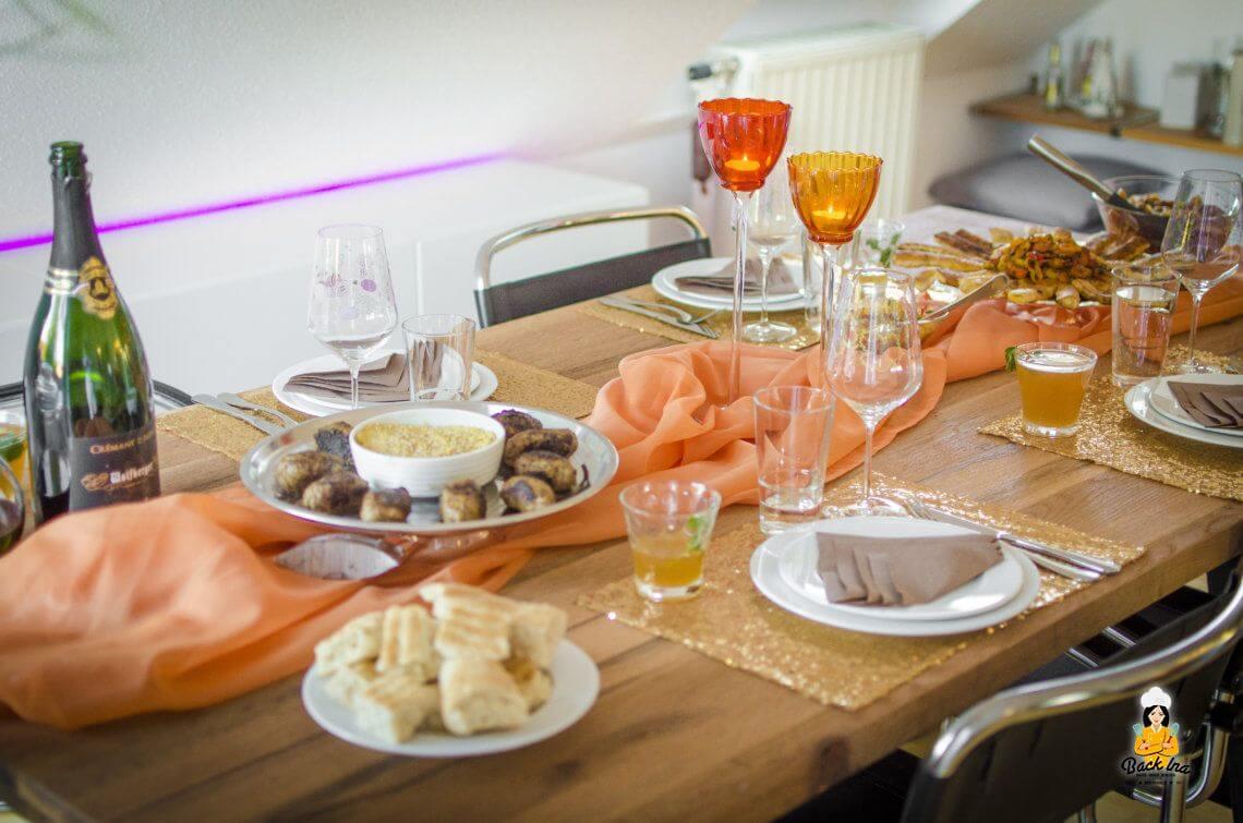 Eingeladen: Ein orientalischer Abend zu Hause