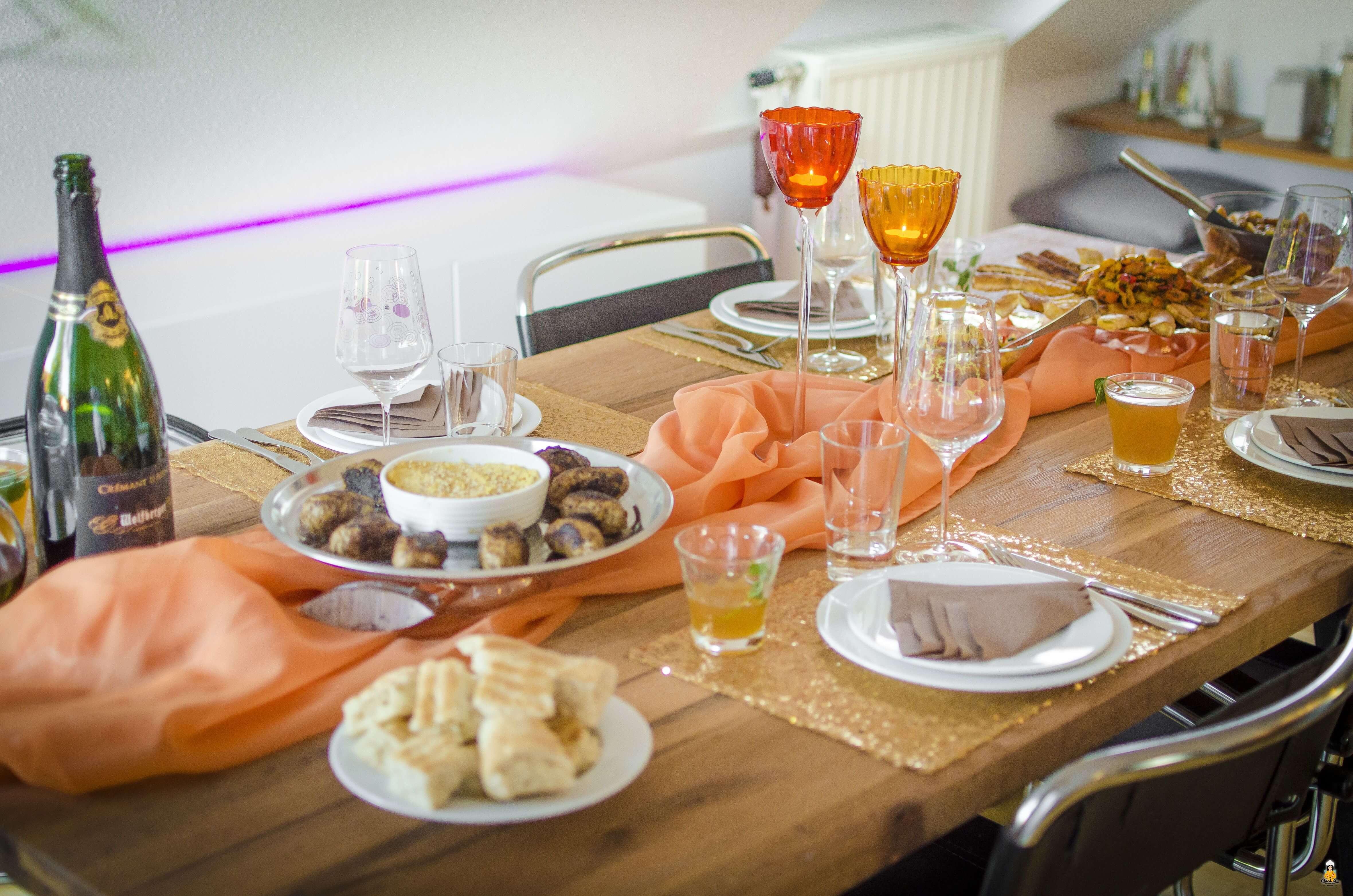 orientalischer abend zu hause rezepte und deko. Black Bedroom Furniture Sets. Home Design Ideas