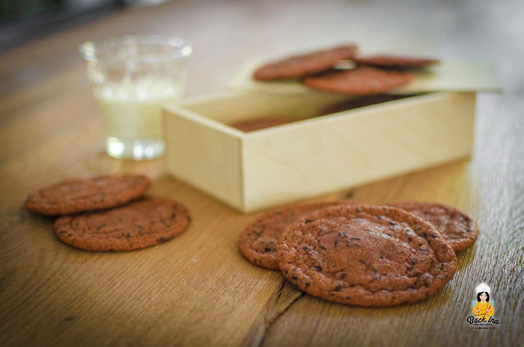 Chocolate Chip Cookies auf amerikanische Art: Richtig schön weich