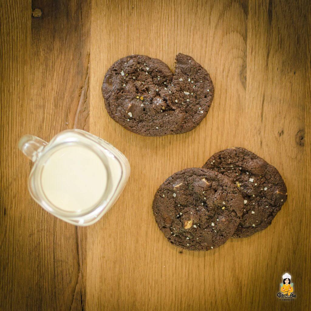 So lecker und saftig: Schoko Cookies American Style