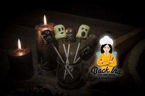 Geister am Spieß für euere nächste Halloween Party