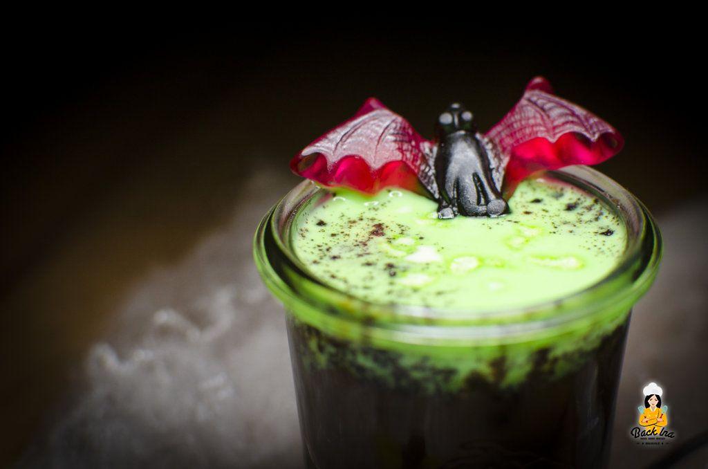 Halloween Dessert: Schimmeliger Pudding
