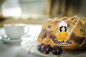 Ein saftiger Nutella Marmorkuchen mit Eierlikör und Kirschen: perfekt zum Sonntagskaffee!