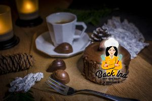 Ein feines Dessert für Chocoholics: Mousse au Chorcolat Törtchen mit extra viel Schokolade
