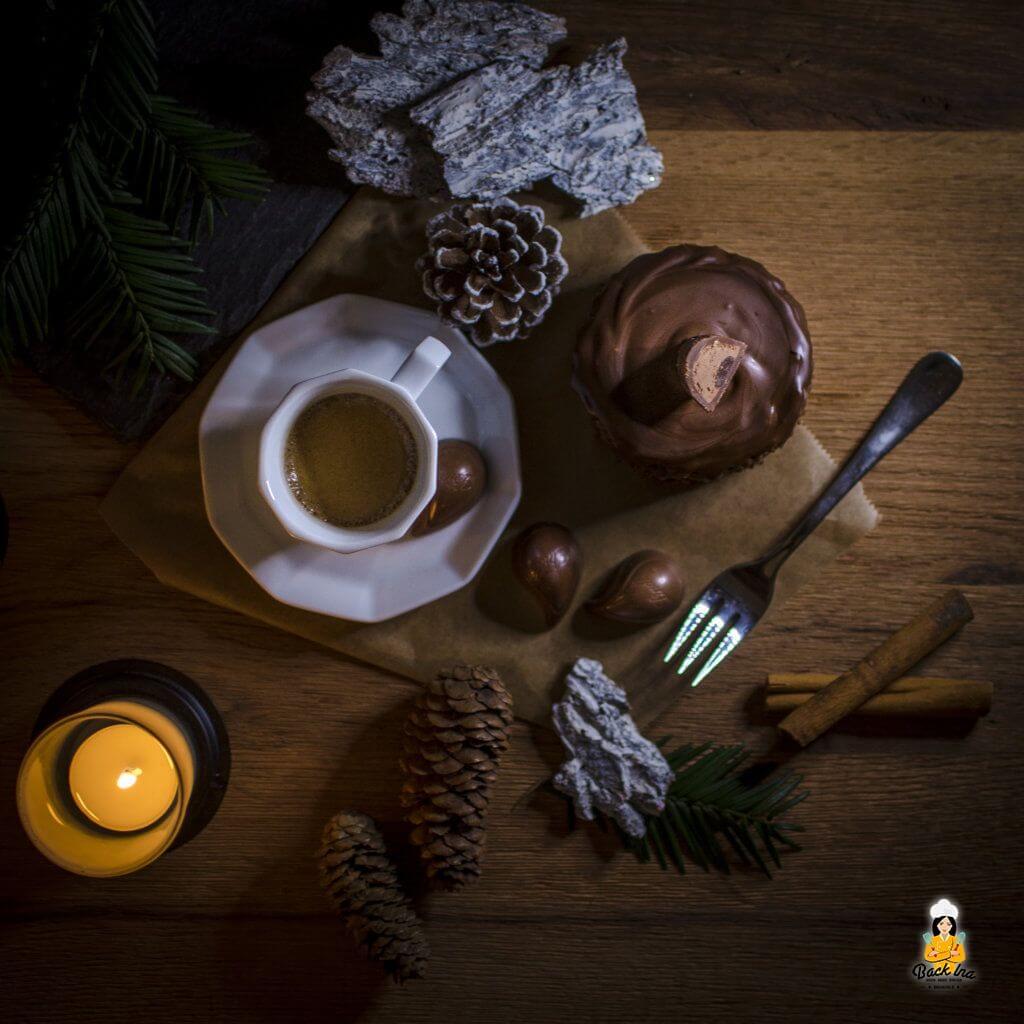 Ein Dessert für Schoko Liebhaber: Mousse au Chocolat Törtchen mit Lindt Chocoholic