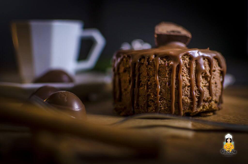 Von Lindt Chocoholic inspiriert: Mousse au Chocolat Törtchen