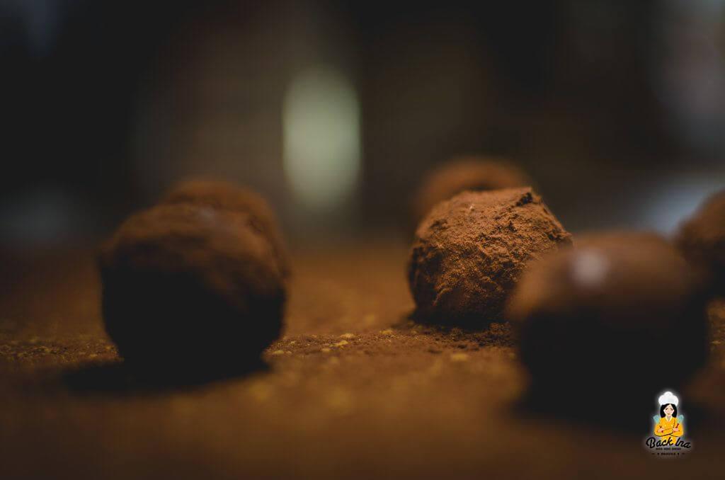 Lebkuchen Trüffel als Geschenk aus der Küche: Pralinen selber machen