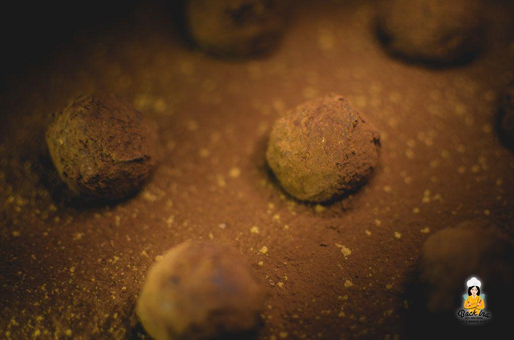 Selbstgemachte Lebkuchen Trüffel: Geschenk aus der Küche