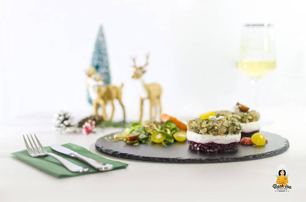 Gebeizter Saibling zur Weihnachtlichen Vorspeise