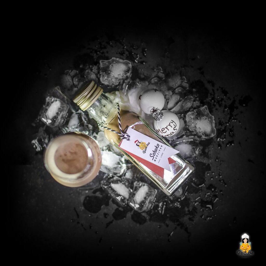 Likör selber machen: Schoko Marzipanlikör zu Weihnachten