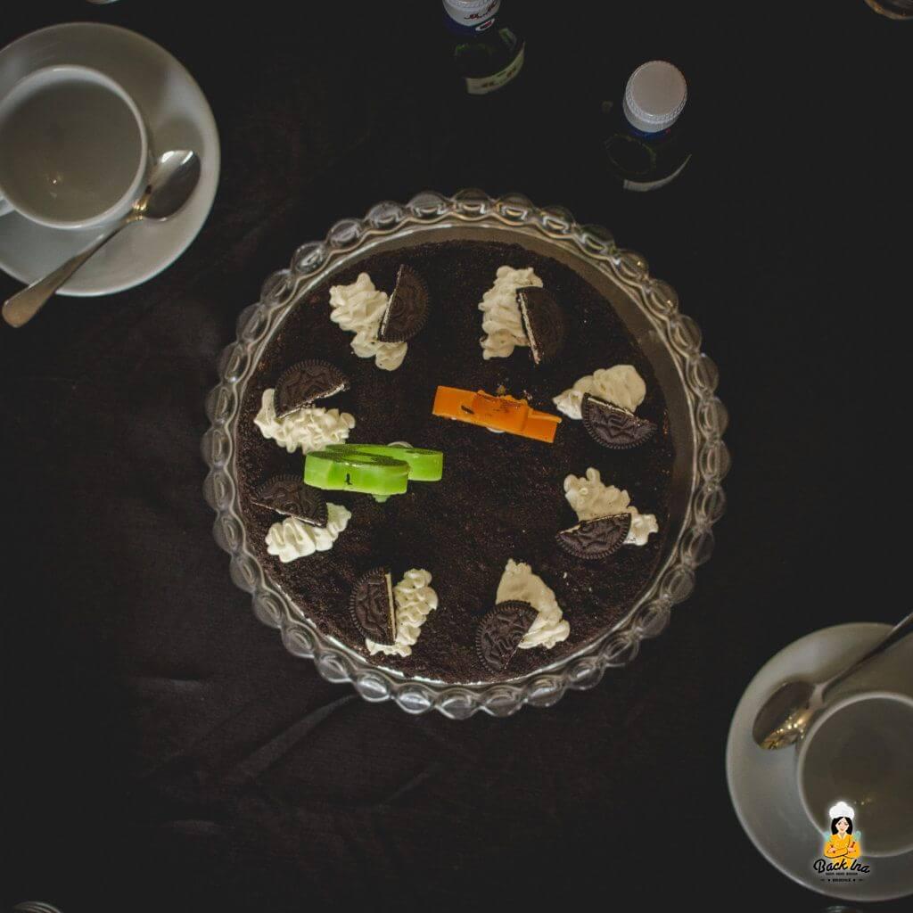 Oreo Torte mit Schokolade und Oreos
