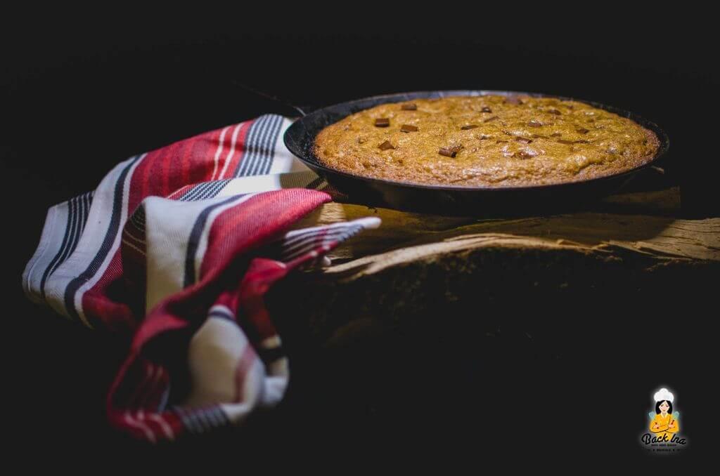 Ein Riesencookie aus der Pfanne oder vom Grill: Skillet Cookie