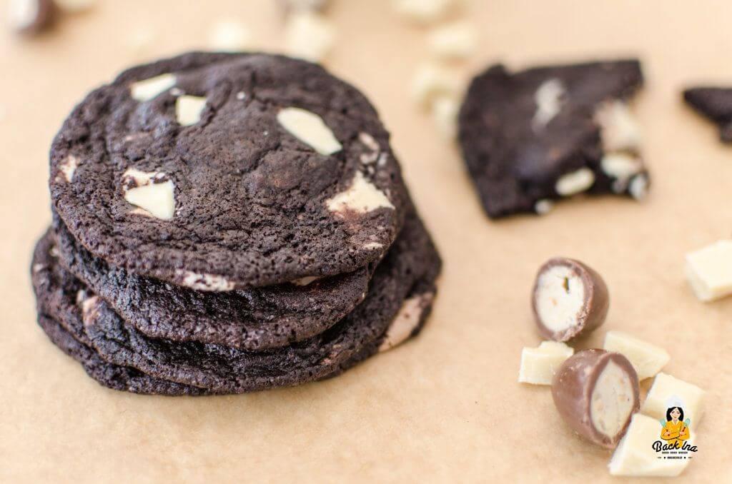 Dicke, chewy Double Chocolate Cookies wie bei Starbucks oder Subway: Extrem lecker und leicht selbst gemacht!