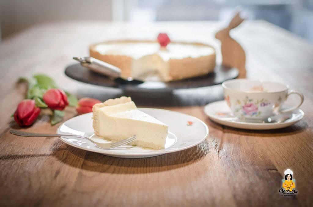 Cremiger Käsekuchen nach klassischer Art: So wie ihn die Oma gemacht hat