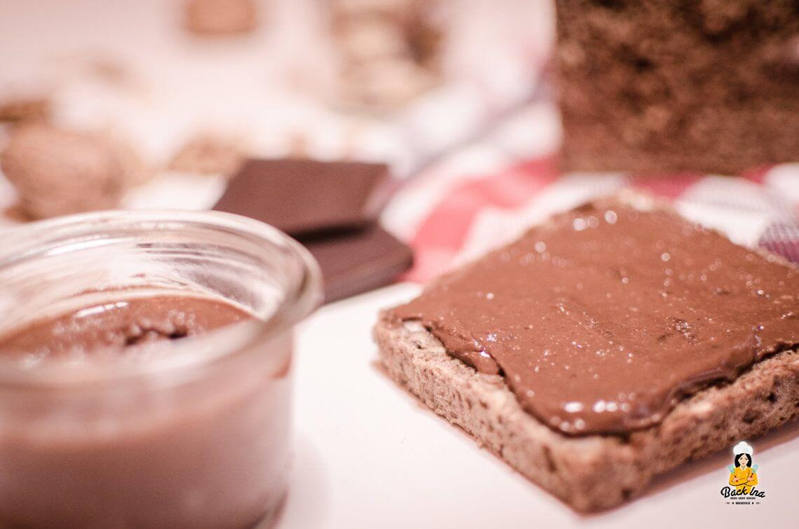 vegane zuckerfreie schoko nuss creme a la nutella. Black Bedroom Furniture Sets. Home Design Ideas