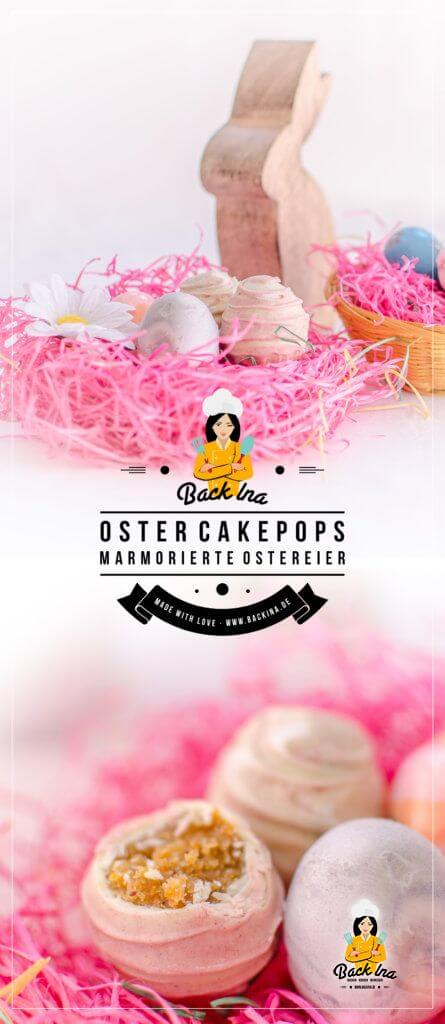 Süße Idee für Mädchen zu Ostern: Cakepop Ostereier in Pastellfarben. Leicht gemacht und ein echter Hingucker!