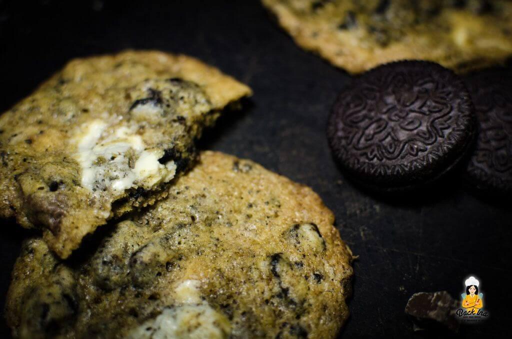Cookies mit weißer Schokolade und Oreos: Perfekte Cookies für Oreo Liebhaber