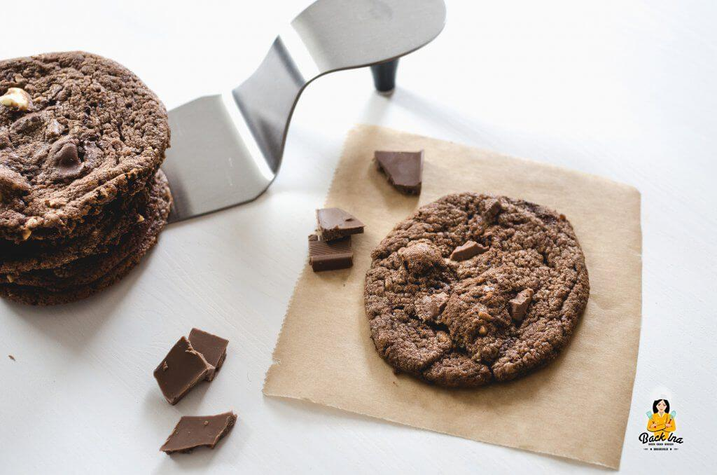 Subway Cookies mit geschmolzener Schokolade im Teig: Aromatisch und chewy