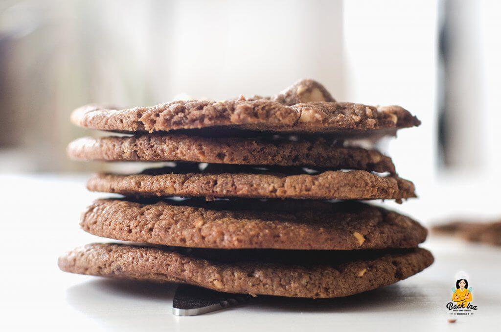 Außen crunchy, innen chewy: Chocolate Chip Cookies wie bei Subway