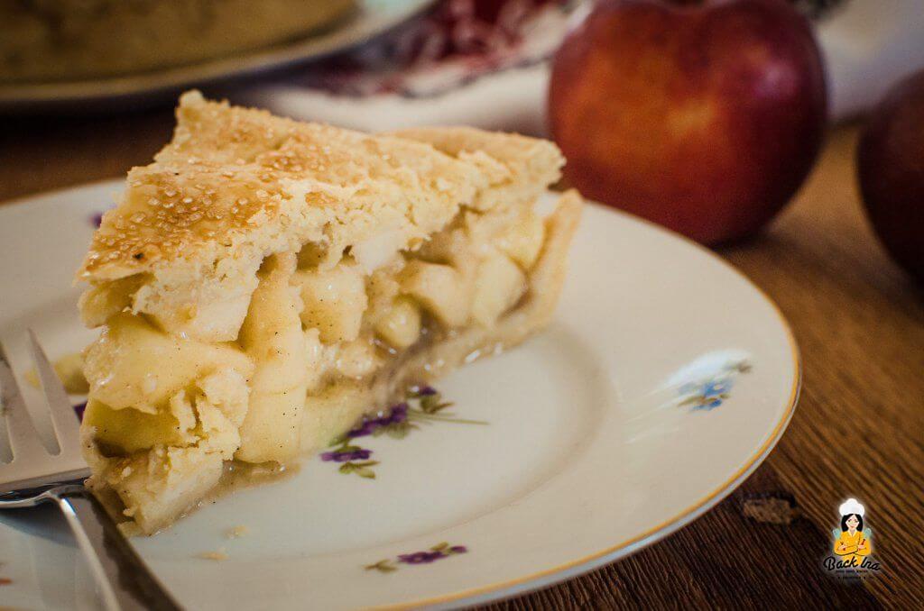 Amerikanischer Apple Pie: Saftige Apfelstückchen machen ihn zum idealen Herbst-Kuchen