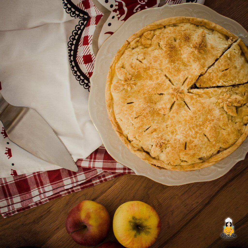 Klassischer Apple Pie nach amerikanischer Art: Mehr als ein gedeckter Apfelkuchen