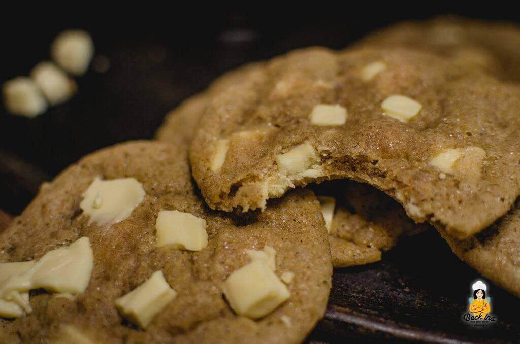 Cookies mit Kürbis: Die perfekten Cookies für den Herbst mit weißer Schokolade, Cranberries und Pumpkin Spice