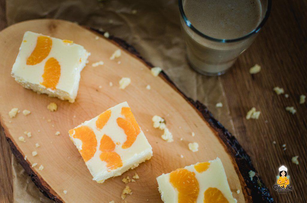 Käsekuchen mit Mandarinen, ein Klassiker: Ich zeige, wie einfach das Rezept geht