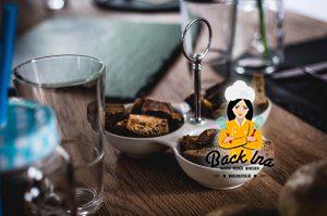 Breadsticks als Vorspeise zu einem American BBQ