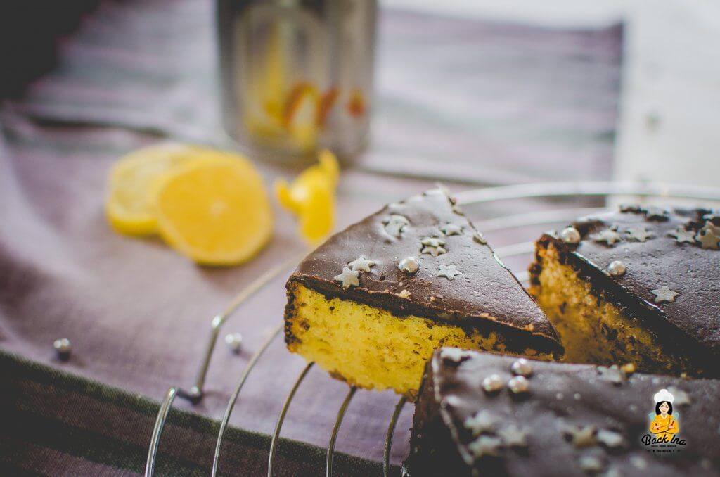 Zitronenkuchen mit Olivenöl statt Butter: Saftiger Zitronenkuchen, der nicht zu süß ist!