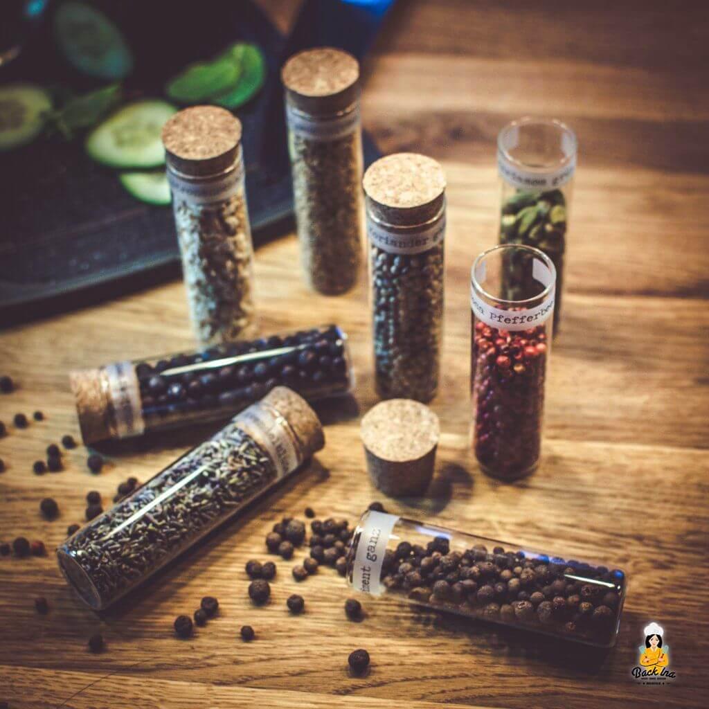 Gin Botanicals von Gewürzpioniere - Gin selbst aromatisieren