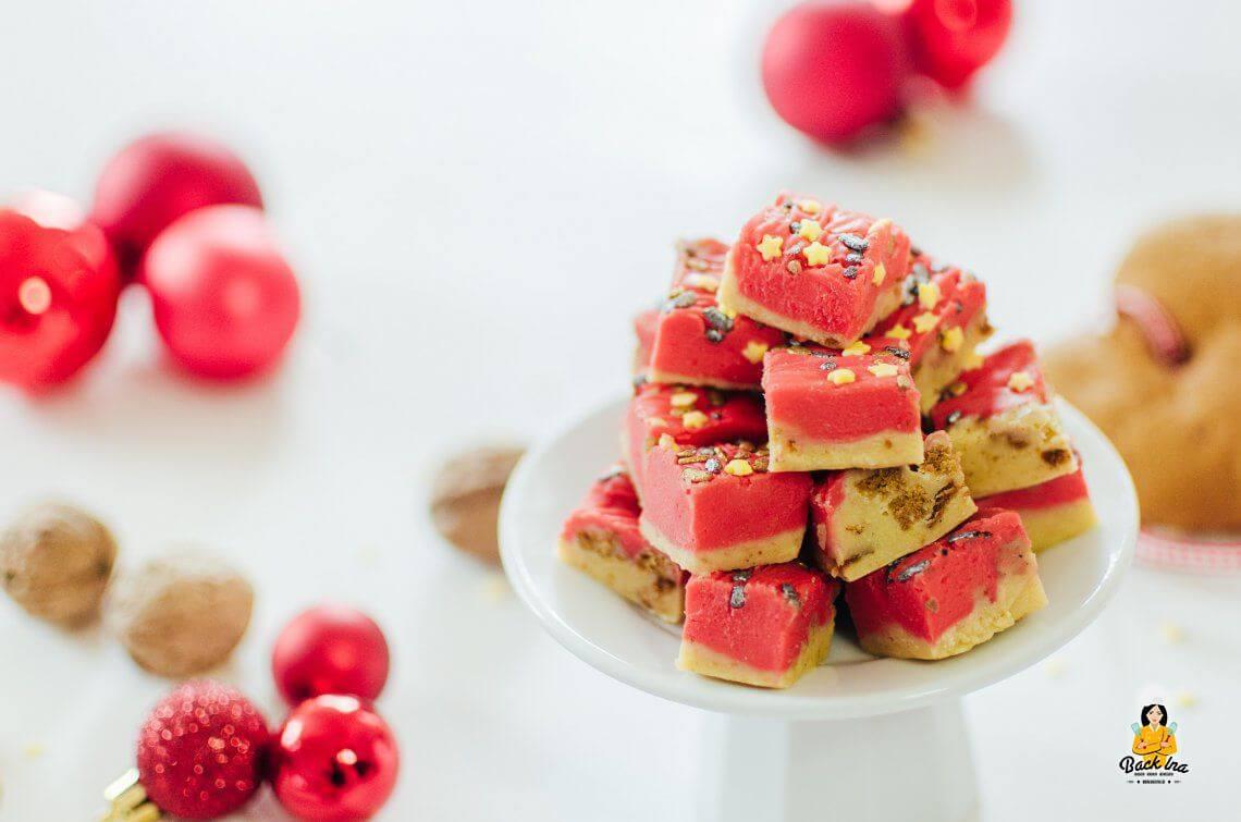 Lebkuchen, Karamell und Vanille… (Lebkuchen Fudge)