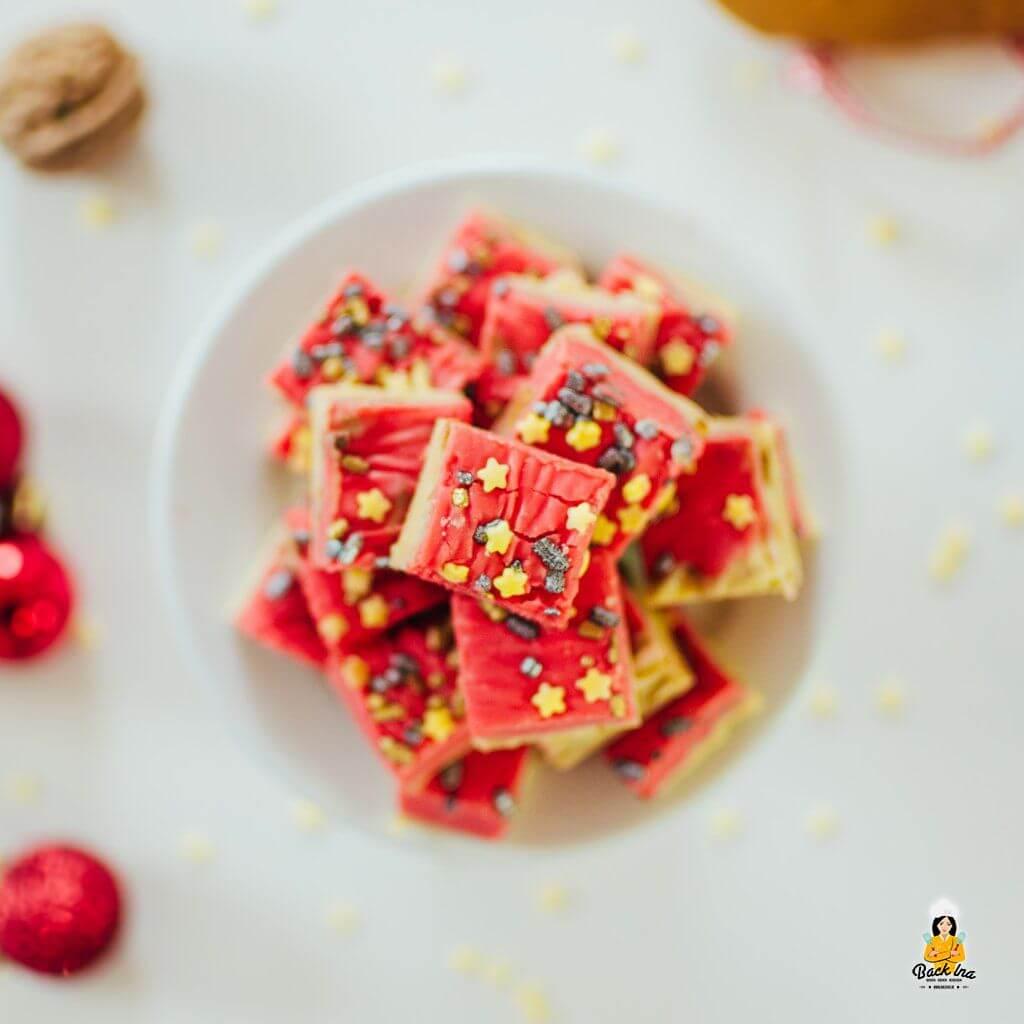 Fudge selber machen: Weihnachtliches Fudge / Weichkaramellen sind ideale Geschenke aus der Küche