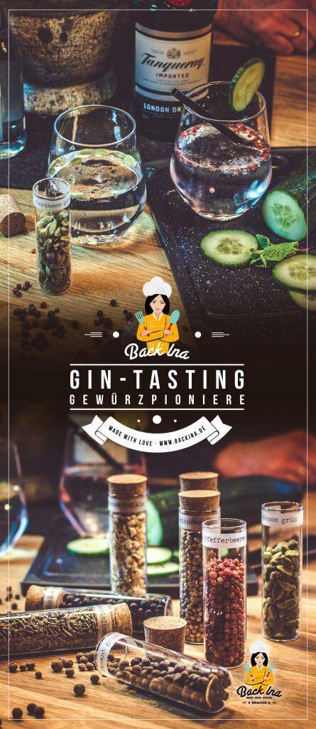 Du möchtest ein Gin Tasting zu Hause veranstalten? Ich zeige dir, was du dafür alles brauchst! | Backina.de